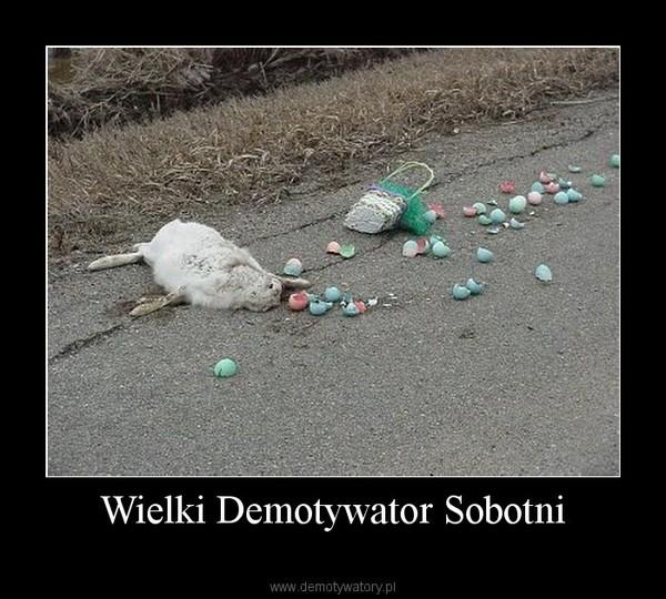 Wielki Demotywator Sobotni –