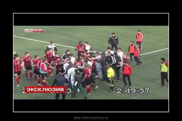 Rosyjski sędzia zdyskwalifikowany za brutalny atak na piłkarza –