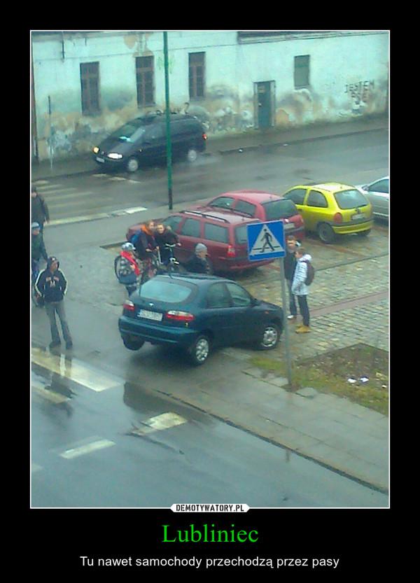 Lubliniec – Tu nawet samochody przechodzą przez pasy