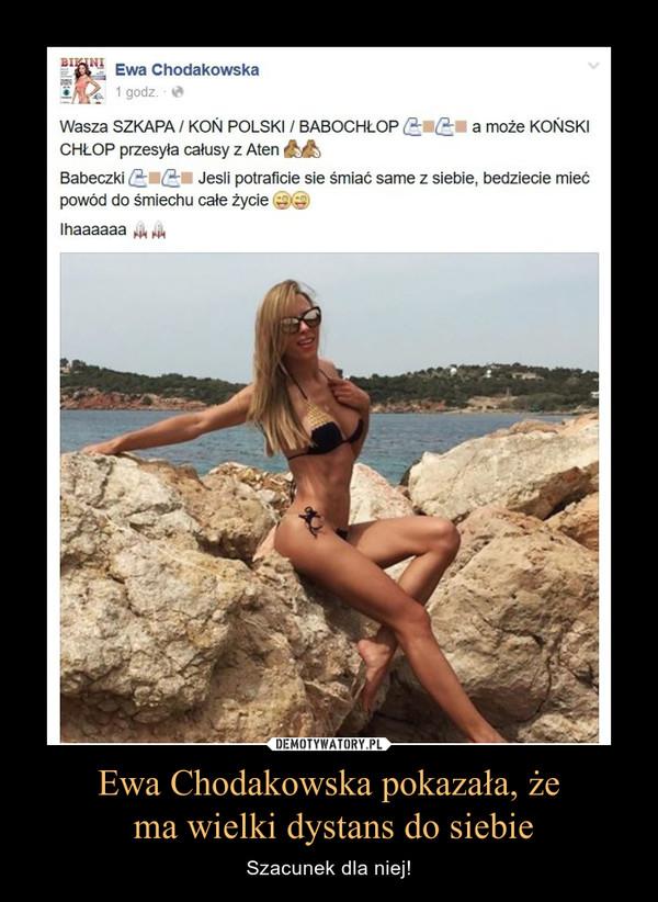 Ewa Chodakowska pokazała, że ma wielki dystans do siebie – Szacunek dla niej!