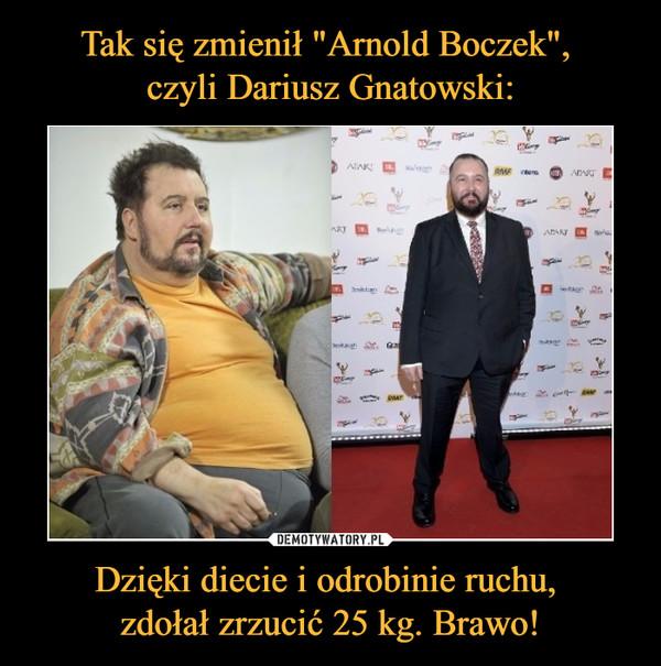 Dzięki diecie i odrobinie ruchu, zdołał zrzucić 25 kg. Brawo! –