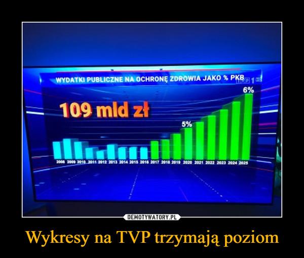 Wykresy na TVP trzymają poziom –