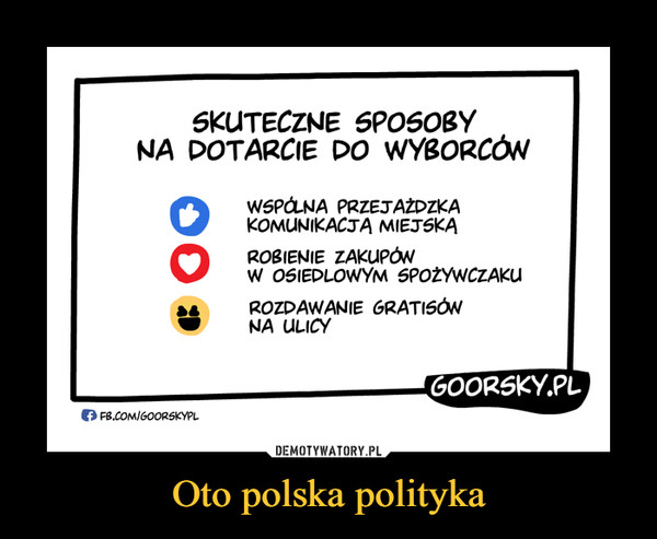 Oto polska polityka –