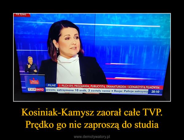 Kosiniak-Kamysz zaorał całe TVP. Prędko go nie zaproszą do studia –