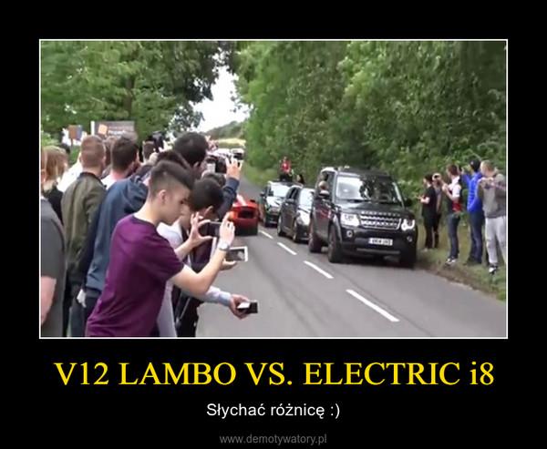 V12 LAMBO VS. ELECTRIC i8 – Słychać różnicę :)