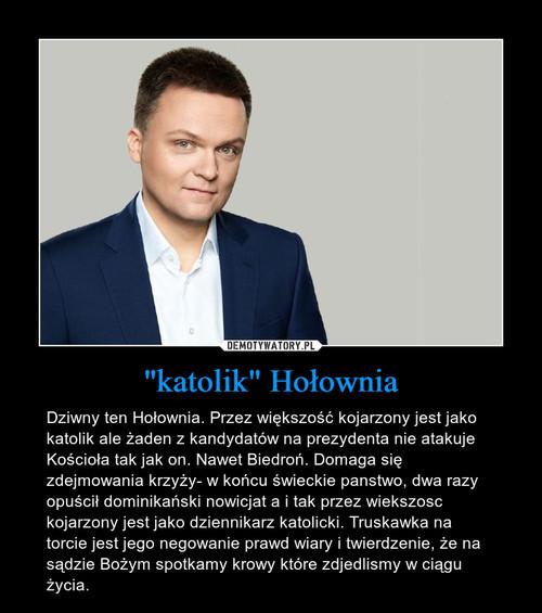 """""""katolik"""" Hołownia"""