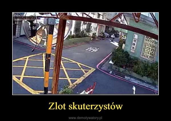 Zlot skuterzystów –