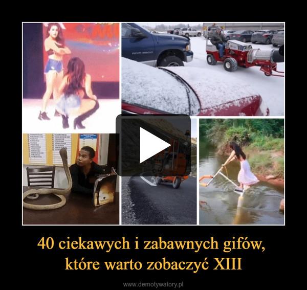 40 ciekawych i zabawnych gifów, które warto zobaczyć XIII –