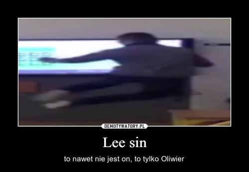 Lee sin
