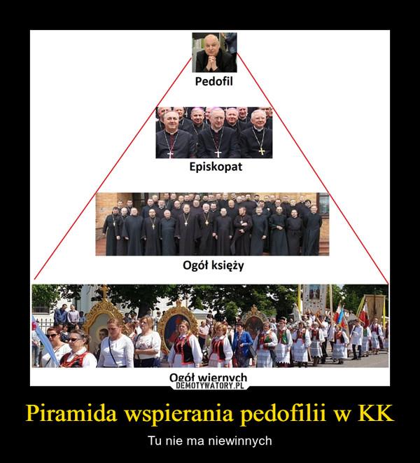 Piramida wspierania pedofilii w KK – Tu nie ma niewinnych