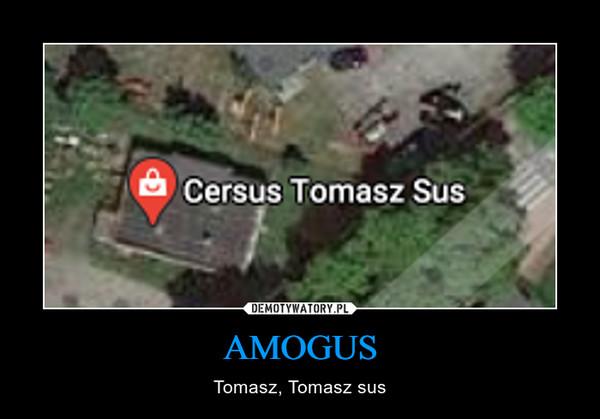 AMOGUS – Tomasz, Tomasz sus