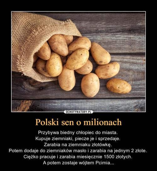 Polski sen o milionach