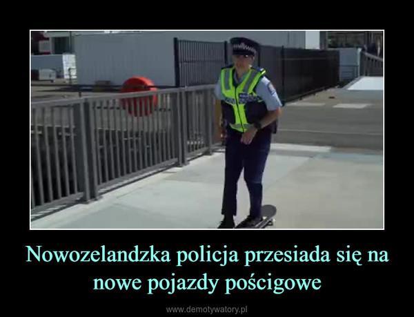 Nowozelandzka policja przesiada się na nowe pojazdy pościgowe –