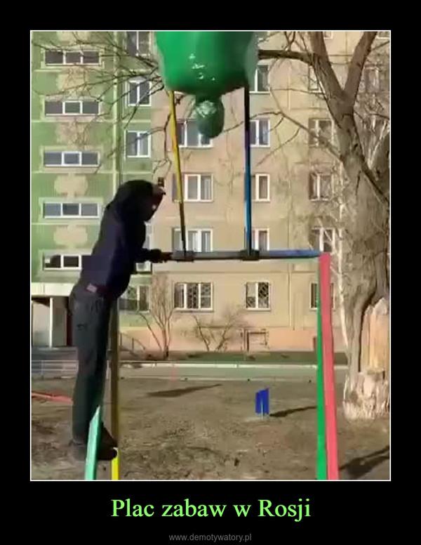 Plac zabaw w Rosji –