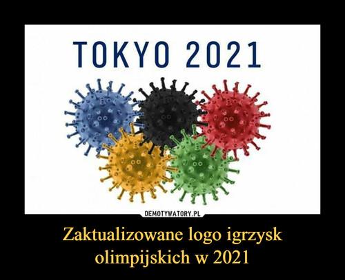 Zaktualizowane logo igrzysk olimpijskich w 2021