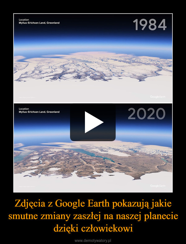 Zdjęcia z Google Earth pokazują jakie smutne zmiany zaszłej na naszej planecie dzięki człowiekowi –