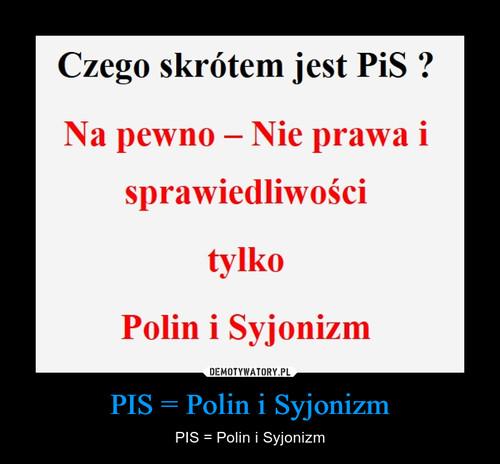 PIS = Polin i Syjonizm