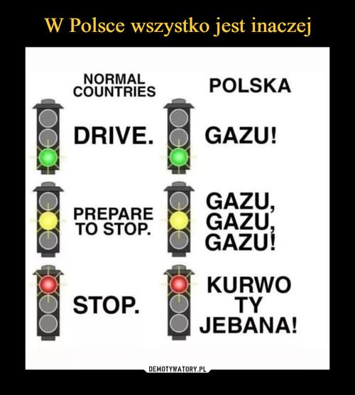 W Polsce wszystko jest inaczej