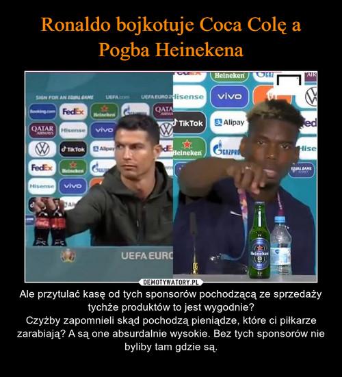 Ronaldo bojkotuje Coca Colę a Pogba Heinekena