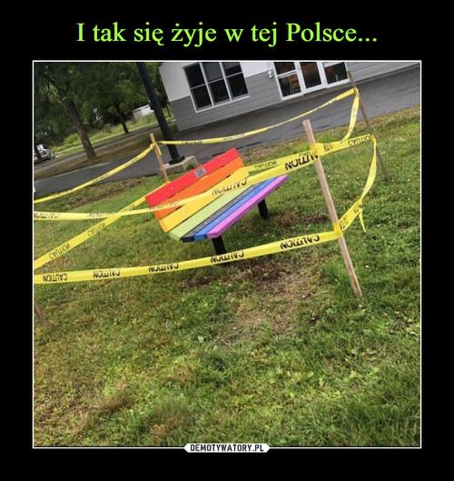 I tak się żyje w tej Polsce...